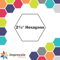 "2½"" Hexagons"