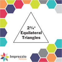 "2¾"" Equilateral Triangles"