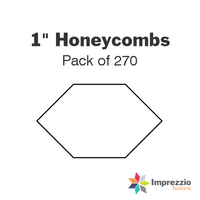 "1"" Honeycomb Papers - Pack of 270"