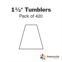 "1½"" Tumbler Papers - Pack of 420"