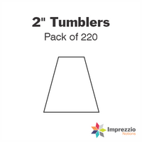 "2"" Tumbler Papers - Pack of 220"