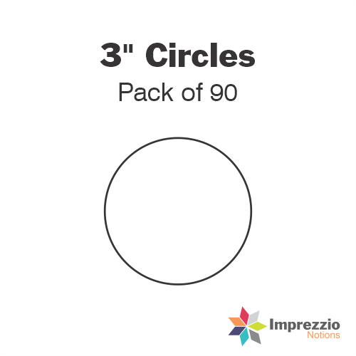 "3"" Circle Papers - Pack of 105"